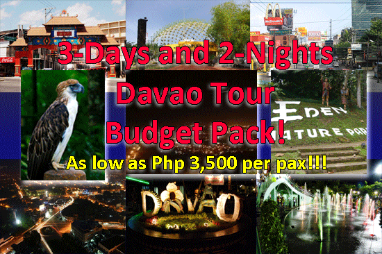 Davao Tour Packages Itinerary For Wedding