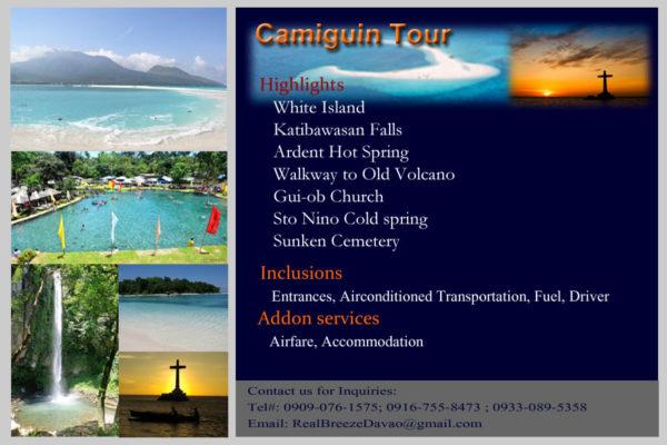 Camiguin Tour