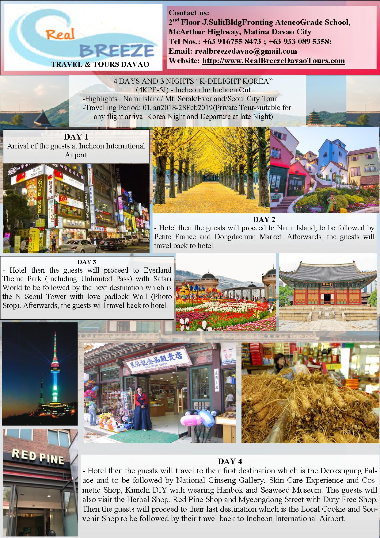 Singapore Tour Package From Davao City