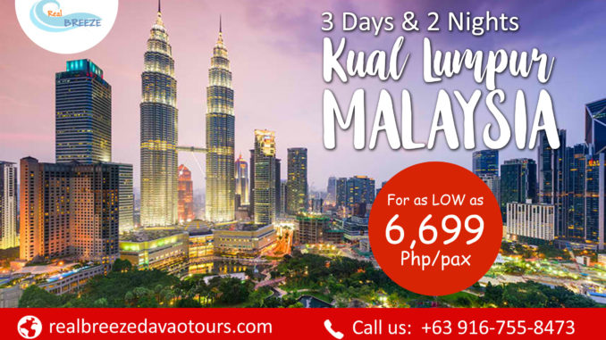 Rental Car Philippines >> Davao Malaysia Tour Package   From Davao Philippines   Affordable   Direct