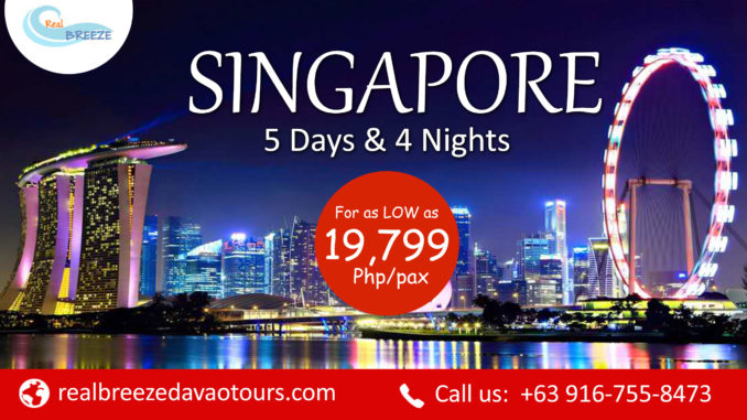 Singapore Tour | Affordable Tour | Davao, Cebu, Manila