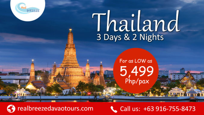 Rental Car Philippines >> Thailand Tour Package : Free and Easy   Davao, Cebu, Manila, Philippines